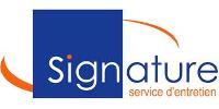 Signature service d'entretien